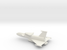 Fantasy Two Stage Space Shuttle in White Strong & Flexible