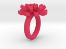 Sea Anemone Ring17.5mm in Pink Strong & Flexible Polished