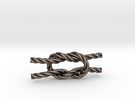 Square Knot in Stainless Steel