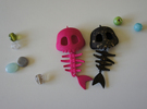 Mermaid Bone in Pink Strong & Flexible Polished