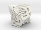 Celtic Percentile D10 - Solid Centre for Plastic in White Strong & Flexible