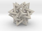 Intersecting Tetrahedra in Sandstone
