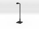 Modern urban lightpost in Black Strong & Flexible