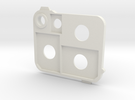 Flash holder SD in White Strong & Flexible