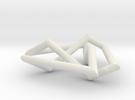 flat trefoil in White Strong & Flexible