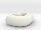 Logo 3D Future in White Strong & Flexible
