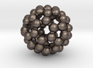 C60 - Buckyball - S in Stainless Steel