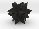 Compound of 5 Tetrahedra2 in Black Strong & Flexible