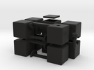 mini 1x2x5 in Black Strong & Flexible
