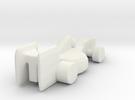 Racecar_v4 in White Strong & Flexible