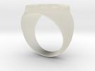 Grayskull Ring (21) in Transparent Acrylic