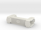 Icetube Clock Enclosure - Main Body in White Strong & Flexible