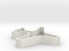 EA6B Aircraft Cookie Cutter in White Strong & Flexible