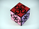 Valentine Cube Puzzle in White Strong & Flexible