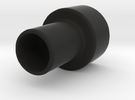 Microscope eyepiece adapter in Black Strong & Flexible