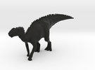 Gryposaurus Dinosaur Large HOLLOW in Black Strong & Flexible