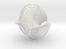 WaveBall3 in White Strong & Flexible