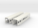 BR 425 Zwischenwagen 1:220 Spur Z in White Strong & Flexible