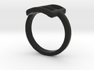 Neda''s Ring in Black Strong & Flexible