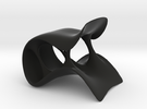 Streach Chair-larger in Black Strong & Flexible