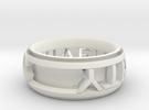 Singularity Ring 2b in White Strong & Flexible