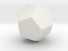 test dodecahedron in White Strong & Flexible