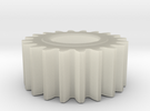 spur gear in Transparent Acrylic
