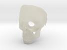 Skull Ring in Transparent Acrylic