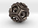Dodecahedron Doodle in Stainless Steel