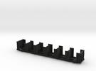 120652 tie bulkhead flatcar in Black Strong & Flexible