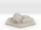 catan_field_hexagon in Sandstone