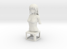 "Figurine ""Hana"" (Bust) in White Strong & Flexible"