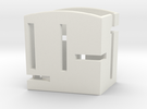 Card Holder Sharp Sides in White Strong & Flexible