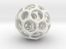Nested truncated icosahedra in Transparent Acrylic