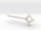 Star Key in White Strong & Flexible