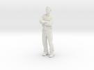 AntoineShirt2 in White Strong & Flexible