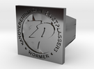 Zwetplassers Zegelring Vierkant in Premium Silver