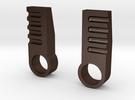 Hench Steel Heels in Matte Bronze Steel