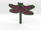 Dragonfly D in Full Color Sandstone