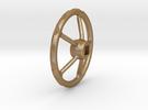 handwheel D20 T5 4kt-2,5 in Matte Gold Steel