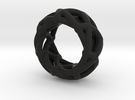 Spirograph Ring in Black Strong & Flexible