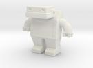 Robot 0030 Jaw Bot Diesel v1 in White Strong & Flexible