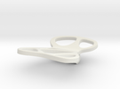 Mojo paperclip in White Strong & Flexible