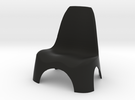 Garden Chair 1/10 in Black Strong & Flexible