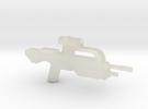 Battle Rifle 50 Model in Transparent Acrylic