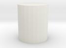 Regenerative Shortwave Detector Coil Form 2 in White Strong & Flexible