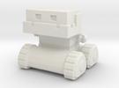 Robot 0052 Jaw Bot Tread Robot v1 in White Strong & Flexible