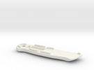 WAX3 Compatible Large Knife Handle Part 2 of 2 in White Strong & Flexible