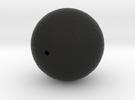 Golf ball hollow in Black Strong & Flexible