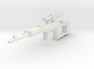 Soviet SVD Dragunov in White Strong & Flexible